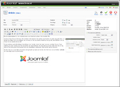 joomla backend screenshot